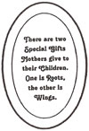 "L1016 4x6"" 5mm Oval Engraved MOTHERS - Set of 3"