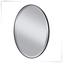 5mm Oval Large Beveled Mirror/Feet
