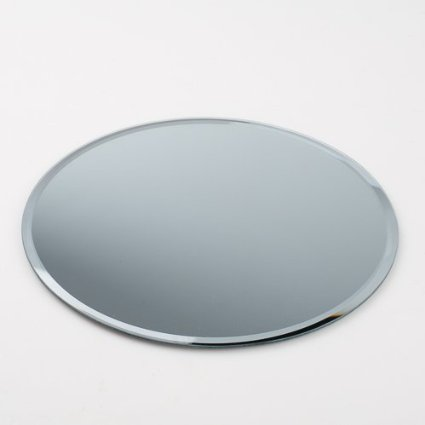 3mm Round Medium Beveled Mirrors - SET OF 3